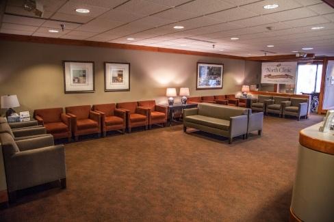 Osseo Clinic lobby