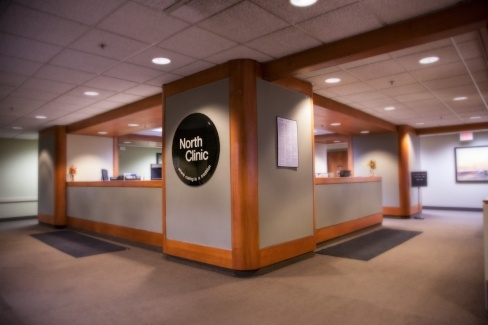 Robbinsdale Clinic reception area